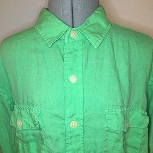 Ralph Lauren Irish Linen Button-down shirt